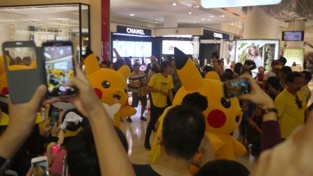 Pikachu parade!
